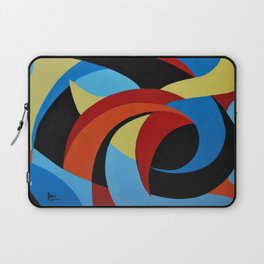Abstract n.1 - Dancing. Everything Dissolve Laptop Sleeve