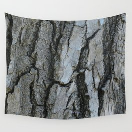 TEXTURES -- Fremont Cottonwood Bark Wall Tapestry