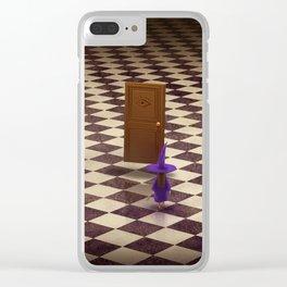 Boubou la petite sorcière Clear iPhone Case