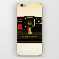 polaroid iPhone & iPod Skins featuring Polaroid by Sydney S Photography