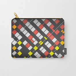 Breakout Pattern Carry-All Pouch
