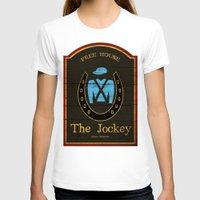 shameless T-shirts featuring The Jockey - Shameless by Jim T