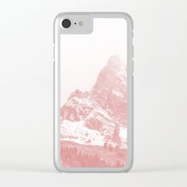 Mountain 02 Clear iPhone Case