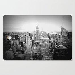 New York City Black & White Cutting Board