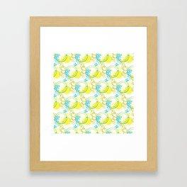 Swirls & Circles Framed Art Print