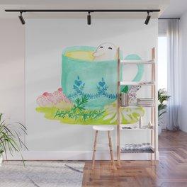 A Bean in Tea Wall Mural