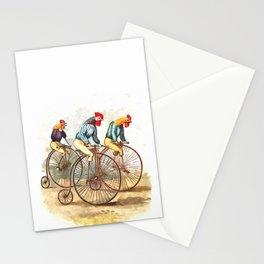 Racing Roosters Stationery Cards