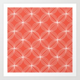 Star Pods - Coral Art Print