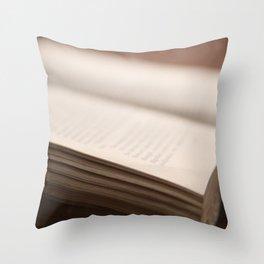Book #4 Throw Pillow