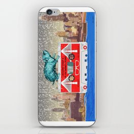 """Brooklyn"" Illustration Denis Dubois iPhone Skin"