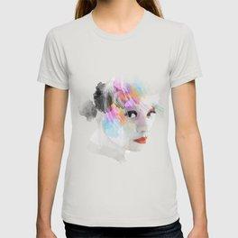 Watercolour Portrait of a girl T-shirt