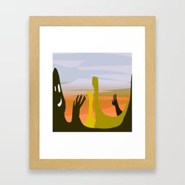 keeps on Framed Art Print