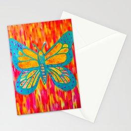 Blush Butterfly Stationery Cards