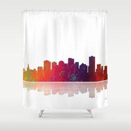Skyline Edmonton 1 Shower Curtain