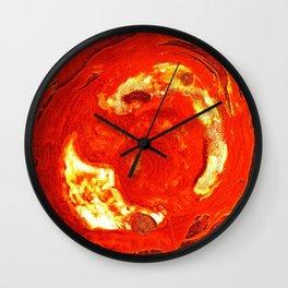 Dissolution, melting, re-birth Wall Clock