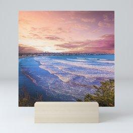 First Beach - Cliff Walk Newport, Rhode Island Sunset Landscape Mini Art Print