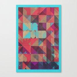 Risograph 1/Diamond Canvas Print