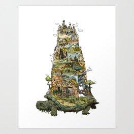 THE TORTOISE Art Print