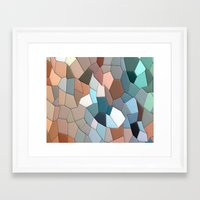 mosaic Framed Art Prints featuring mosaic  by  Agostino Lo Coco