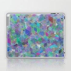 Panelscape + circles - #2 society6 custom generation Laptop & iPad Skin