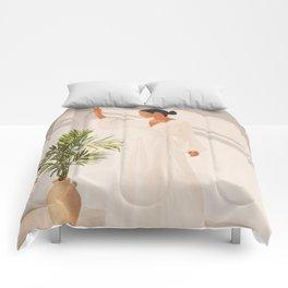 Opened Window Comforters