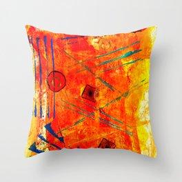 Limbic Blast Throw Pillow