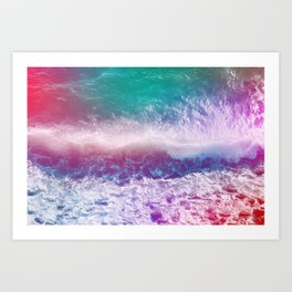 Infinite Waves and Endless Summers Art Print