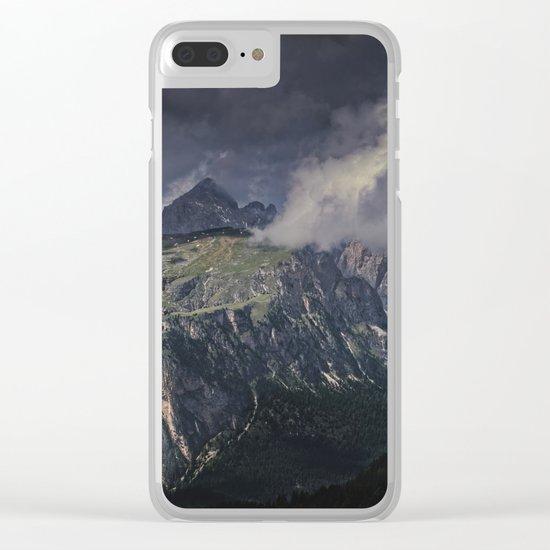 Rugged Terrain Clear iPhone Case