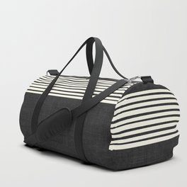 Band in Black and White Duffle Bag