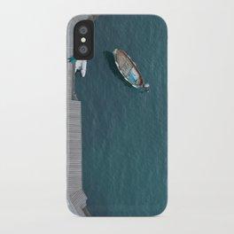 Blue bay iPhone Case