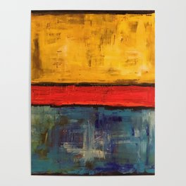 Primary Rothko Poster