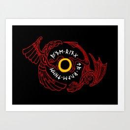 War of the ring Art Print