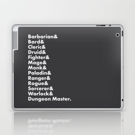 Dungeons and Dragons - Classes Laptop & iPad Skin