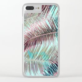 Lost in Paradise Clear iPhone Case