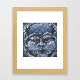 Blue Spirit Framed Art Print