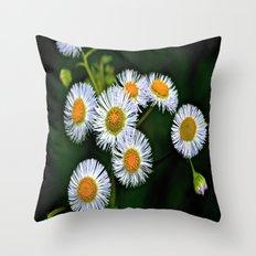 Flowerworks Throw Pillow
