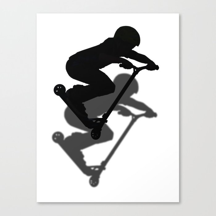 Scooter Boy - Stunt Scooter #5 Canvas Print