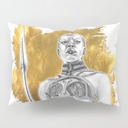 Okoye Warrior Woman #Blackpanther #wakanda Pillow Sham