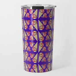 Three Second Rule; Save the Ice Cream Pattern Travel Mug