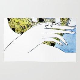 Spring-love-bird-arms-sheandhim Rug