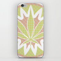 cannabis iPhone & iPod Skins featuring The Cannabis Case. by Space Jungle