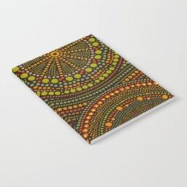 Dot Art Circles Aboriginal Art #2 Notebook