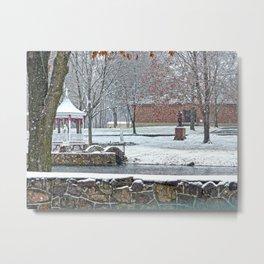 Duck Pond at Ste. Marie Du Lac Metal Print