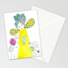 Queen Bea's garden Stationery Cards