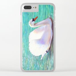 Springtime on the river Clear iPhone Case