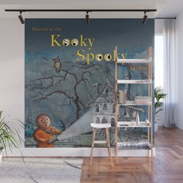 Marvin in the Kooky Spooky House Wall Mural