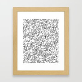 Bears Print by Rachelle Panagarry Framed Art Print