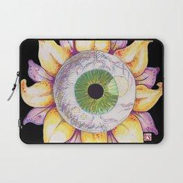 Eyeball Flower Laptop Sleeve