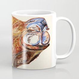 Flannel happens to be a Camel Coffee Mug