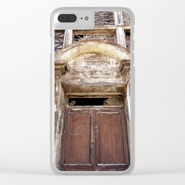 Worn Down Clear iPhone Case
